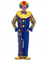 Clownen blåklint - Maskeradkläder för vuxna