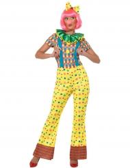 Fia med blubb - Clowndräkt för vuxna till maskeraden