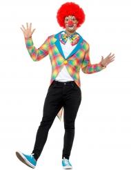 Clownens frack - Maskeradkläder för vuxna