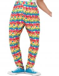 Clownbyxa - Maskeradkläder för vuxna