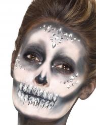 100 Ansiktsstrass - Halloweensminkning