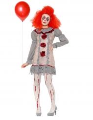 Vintage clown - Maskeradkläder för vuxna
