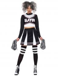 Gotisk cheerleader - Halloweenkläder för vuxna