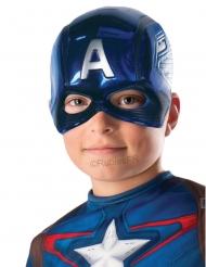 Captain America™ - Halvvmask för barn