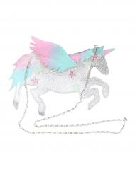 Enhörning - Glittrig väska till maskeraden