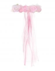 Rosenkrans i rosa för barn till kalaset