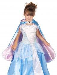 Vändbar prinsessmantel för barn till kalaset