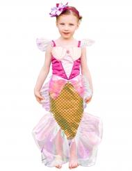 Gyllene sjöjungfru - Maskeradkläder för barn till kalaset