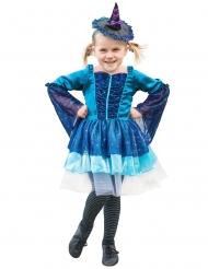 Blå häxa - Maskeradkläder för barn