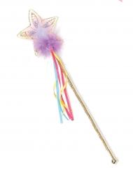 Magiskt trollspö i regnbågensfärger till kalaset