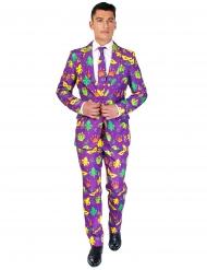Suitmeister™ Mr Mardi Gras herrkostym