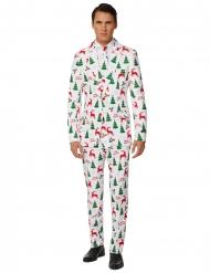 Mr. Merry Xmas i vitt - Kostym från Suitmeister™ för vuxna