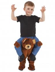 Rider på en teddybjörn - Maskeraddräkt för barn från Morphsuits™