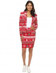 Mrs. Röd Gran - Kostym från Suitmeister™ för damer