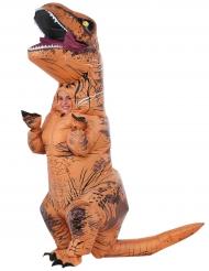 T-rex från Jurassic World™ - Uppblåsbar maskeraddräkt för barn