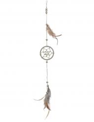 Drömfångare med fjädrar 35 cm