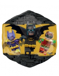 Aluminiumballong från Legobatman™ 55 x 58 cm