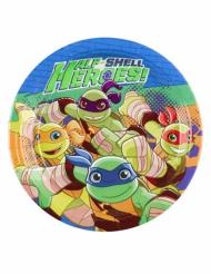 8 små tallrikar från Ninja Turtles™ 18 cm