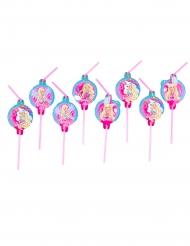 8 Sugrör från Barbie Dreamtopia™