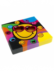 20 servetter från Smiley World™ 33 x 33