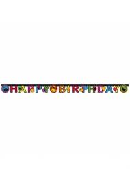 Happy Birthday - Slinga från Smiley World™ 182 cm