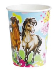 Charming Horses - 8 kartongmuggar till kalaset 250 ml