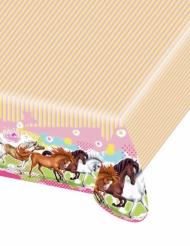 Duk i plast med Charming Horses 120 x 180 cm