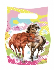 Charming Horses - 6 kalaspåsar 20 x 18 cm