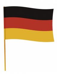 Tysklandsflagga på pinne 70 x 90 cm
