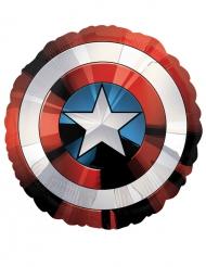 Captain Americas sköld - Jätteballong i aluminium från Avengers™ 71 x 71 cm