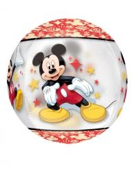 Sfärisk aluminiumballong från Musse Piggs™ officiella varumärke 40 cm