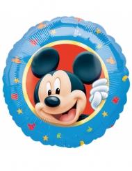 Musse Pigg™ - Rund aluminiumballong 43 cm
