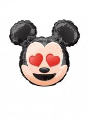Liten Musse Pigg™ aluminiumballong från Emoji™ 22cm