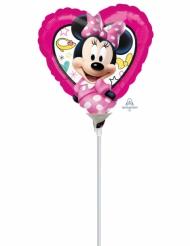 Hjärtformad ballong från Mimmi™ 23 x 23 cm