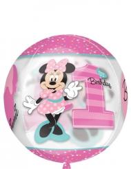 Första födelsedagen med Mimmi™ - Aluminiumballong 38 x 40 cm