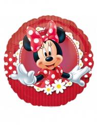 Blommig ballong med Mimmi™ - Kalasdekor 23cm