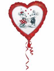 Musse™ & Mimmi™ - Kärleksballong i aluminium 43 cm