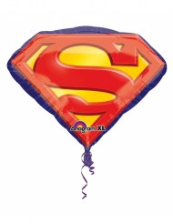 Superman™ - Aluminiumballong 66 x 55 cm