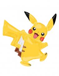Liten ballong i aluminium från Pikachu™ 27 x 33 cm