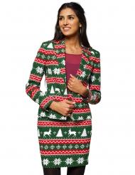 Mrs. Festive green - Kostym från Opposuits™ för damer