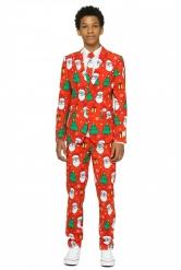 Mr. Holiday Hero - Kostym för tonåringar från Opposuits™