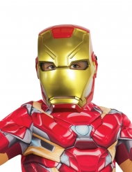Halvmask i plast från Iron Man™