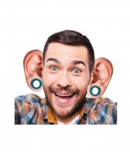 10 par stora öron i kartong till festen