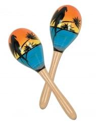 Tropiska marakas - Partytillbehör