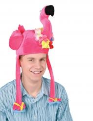 Rosa flamingomössa