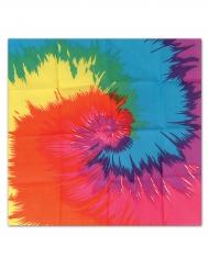 Hippiebandana i många färger - Maskeradtillbehör 55 x 55 cm
