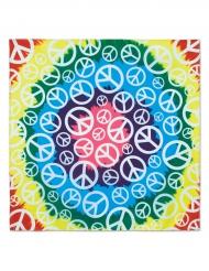 Peace - Bandana till maskeraden 55 x 55 cm