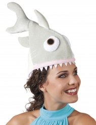 Mössa med bitande haj vuxen