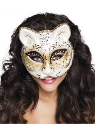 Venetiansk katt - Ögonmask till maskeraden för vuxna