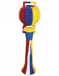 Färgglad clownlur 50 cm